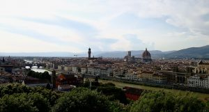 View from Piazzale Michelangelo, Florence - Panorama da Piazzale Michelangelo, Firenze