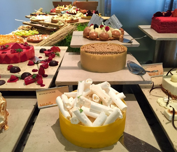 Desserts Buffet at the Bubbalicious brunch, Westin Dubai