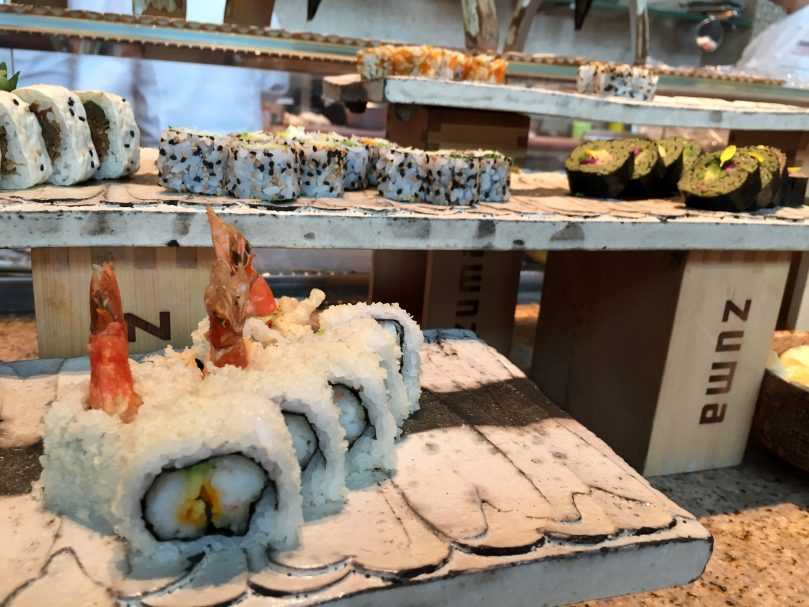 Brunch at Zuma, a must for all lovers of Japanese food in Dubai!